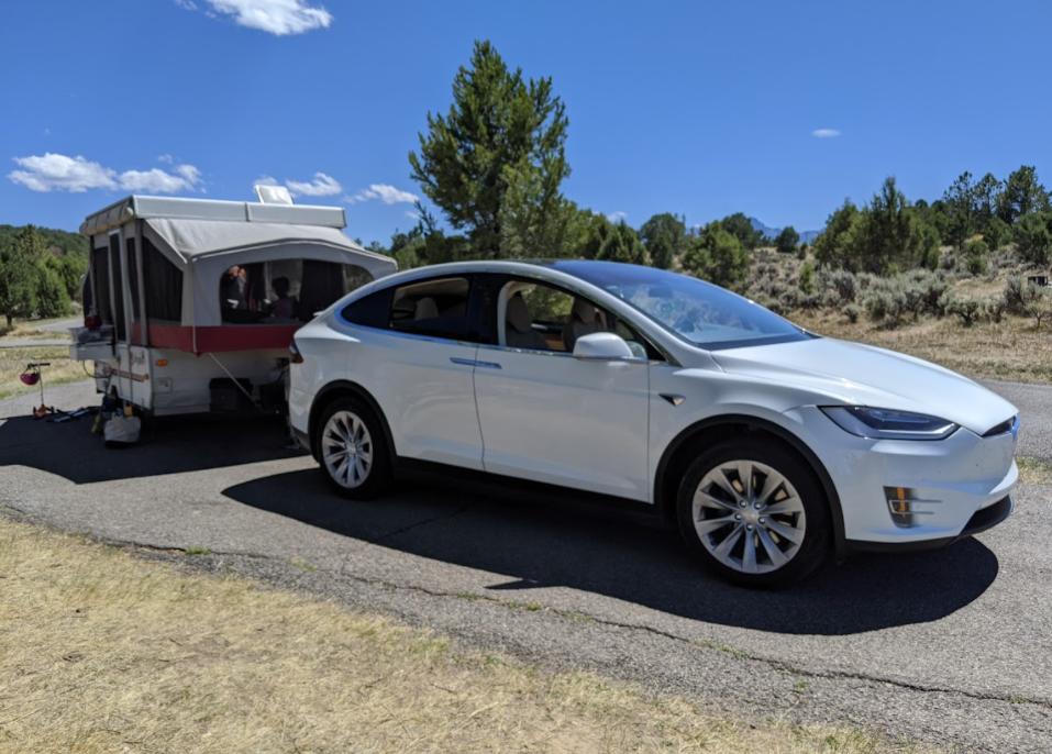 Tesla Campijng